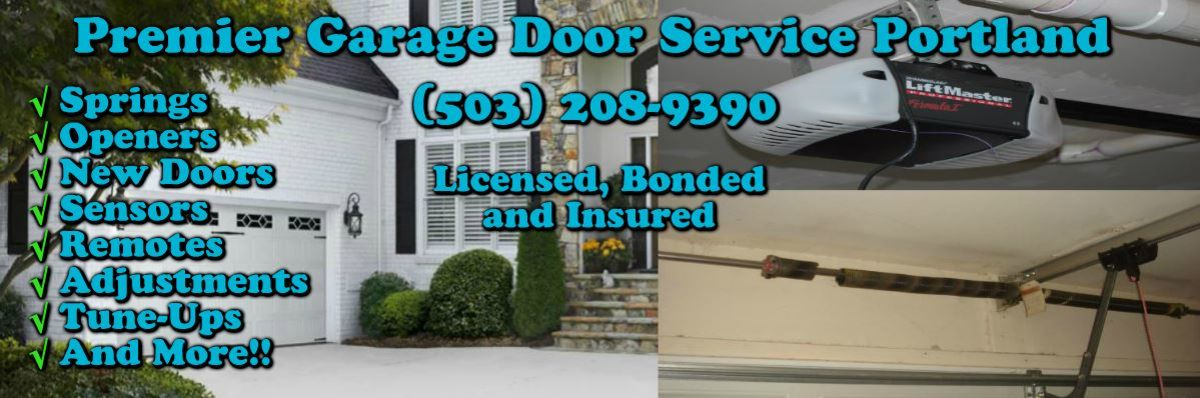 Headline for Premier Garage Door Service Portland