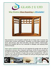 Why Window Glass Repairing is Affordable