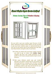 How To Save Money With Window Glazing Repairing