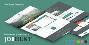JobHunt - Elegant Job Board Template