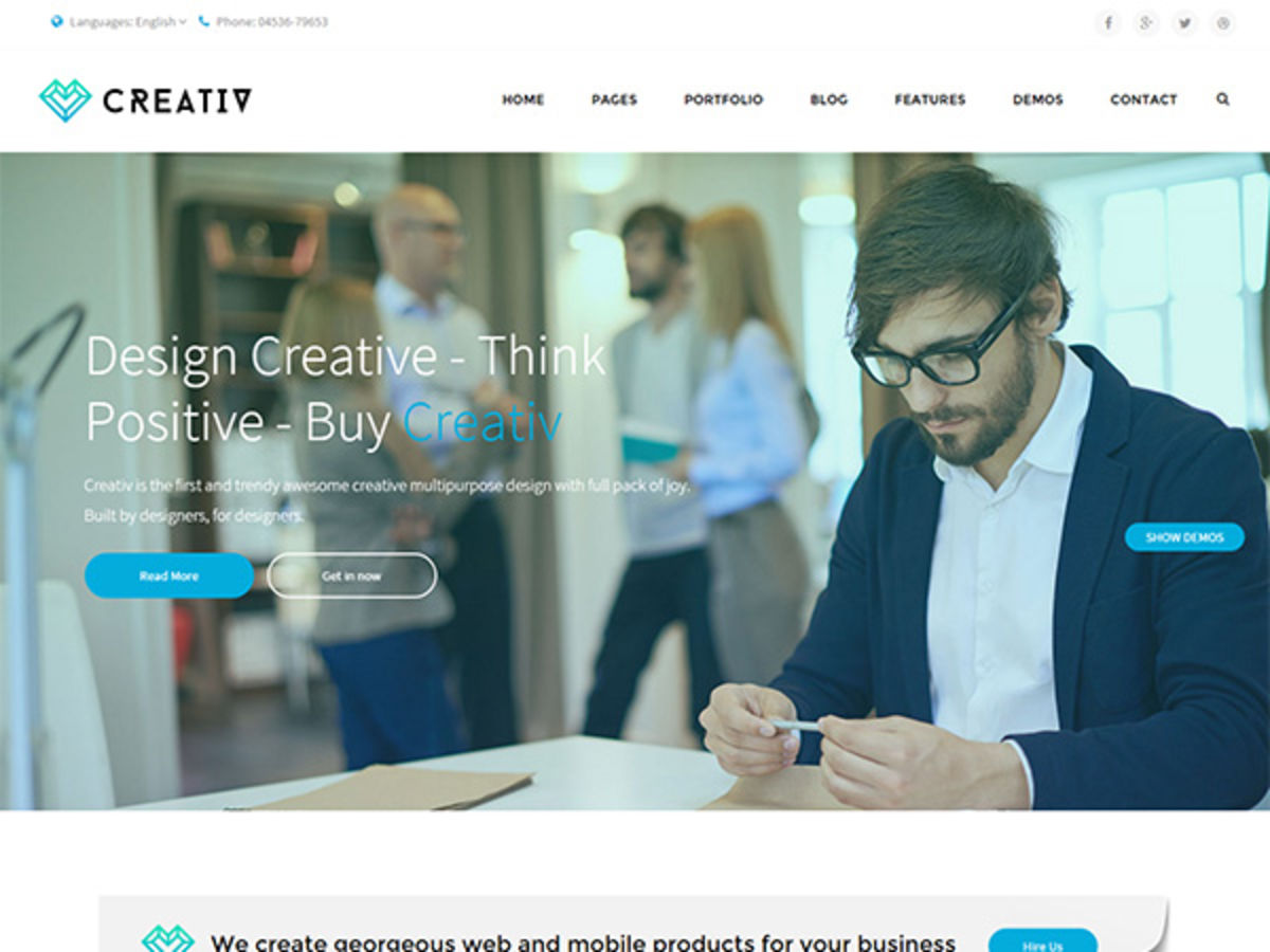 Headline for Top 15 HTML Templates That Can Be Used To Develop Business Websites
