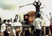 ISRO Used Bullock Carts To Move Satellites Back In Days