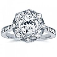 Vintage engagement rings USA