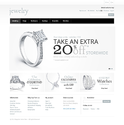 Jewelry magento website template