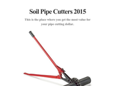 Soil Pipe Cutters 2015