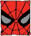 Silver Buffalo MC7027 Marvel Comics Spiderman Micro-Plush Throw Blanket, 50 in. x 60 in.