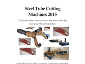 Steel Tube Cutting Machines 2015