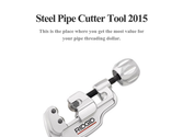 Steel Pipe Cutter Tool 2015