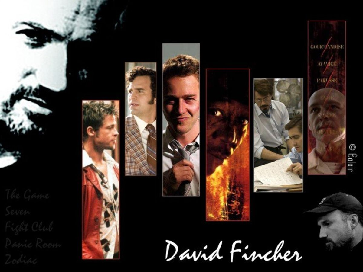 Headline for MASTER OF SUSPENSE!!! Top 10 Movies of DAVID FINCHER