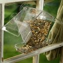 Aspects155 Window Cafe Window Mount Bird Feeder Holds Variety of Seeds & Blends