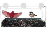 Best Selection of Window Mounted Bird Feeder Styles - Reviews