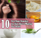 10 Best Home Remedies for Shiny Hair to Maintain Hair Health