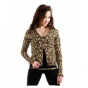 Se_Ku Girl's Leopard Fleece Warmie Jacket