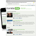 Curate.Me | Curated News Delivered On Your Schedule