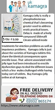 Kamagra jelly share the identical consequences upon erectile issue