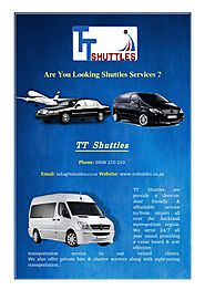 Get Pleasant Airport Shuttle Service