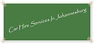Car Hire Services In Johannesburg