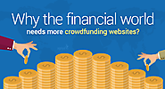 Why the financial world needs more crowdfunding websites?
