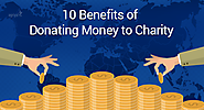 10 benefits of donating money to charity