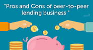 The pros and cons of peer-to-peer lending business