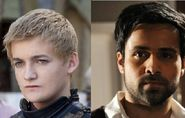 Emran Hashmi as Joffrey Baratheon
