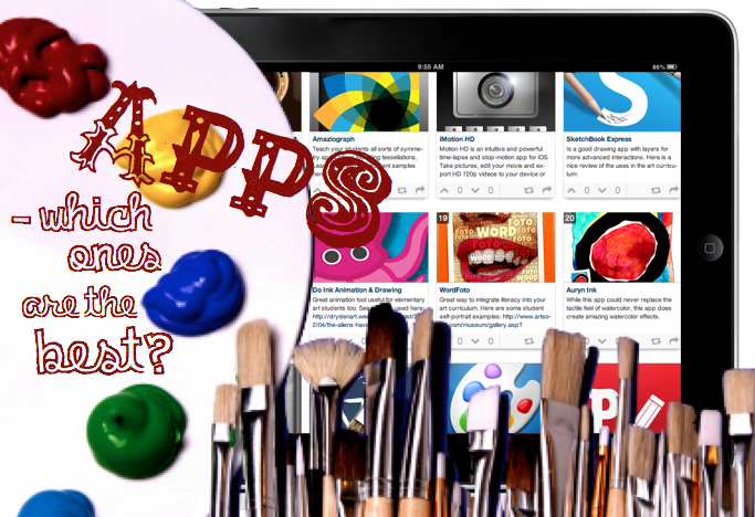 Headline for The Best iPad Apps in Art Education