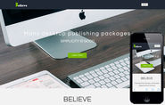 Believe a Corporate Portfolio Flat Bootstrap Responsive Web Template by w3layouts