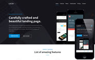 Lucid v1 a Mobile App Landing Flat Bootstrap Responsive Web Template by w3layouts