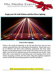 Disco lighting for sale auckland