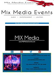 Have disco lighting and change your mood to party | Mix Media Events