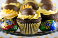 The World's Top 10 Best Cupcakes Made With Cadburys Creme Eggs.