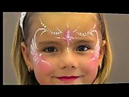 Princess FACE PAINTING - MAQUILLAGE POUR ENFANTS