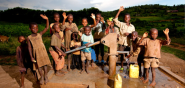 BEFORE: Example: Thunderclap charity: water live in Rwanda