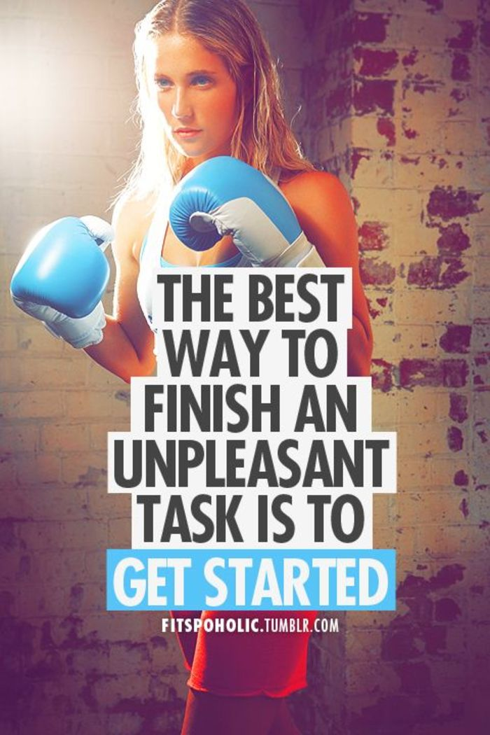 Get Started And Finish The Task You Dont Want