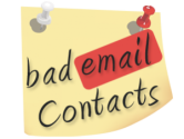 Bad Email Contacts: B2B Marketers 'Intervention' Required!! | eSalesData - Mailing List Experts