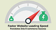 Faster Website Loading Speed Translates Into E-commerce Success