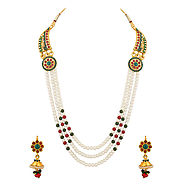 Diamond Necklace Sets Online Shopping for Women