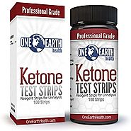 Ketone Test Strips for Low Carb Diets