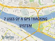 7 uses of a GPS tracking system