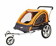InSTEP Quick N EZ Double Bicycle Trailer Review