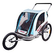 Allen Sports Premier Aluminum 2-child Jogger/Bike Trailer Review