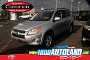 Certified used 2011 Toyota RAV4 Limited for sale at Autoland in Springfield, NJ.