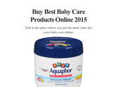 Buy Best Baby Care Products Online 2015