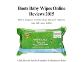 Boots Baby Wipes Online Reviews 2015