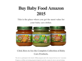 Buy Baby Food Amazon 2015