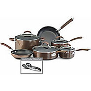 Farberware Millennium 12-pc. Bronze Cookware Set-One Size,BRONZE - Kitchen Things