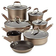 Anolon Advanced Hard Anodized 12-piece Bronze Cookware Set - Kitchen Things