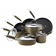 Anolon Advanced Hard Anodized 11pc. Cookware Set , Bronze - Kitchen Things