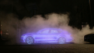 This Audi Emits Nothing but Water Vapor, So Its Billboards Are Made of That Too