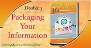Packaging Your Information-Doable 3
